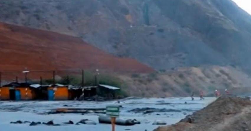 TRAGEDIA AMBIENTAL EN HUANCAVELICA: Desechos mineros de la mina Cobriza de Doe Run cayeron al río Mantaro