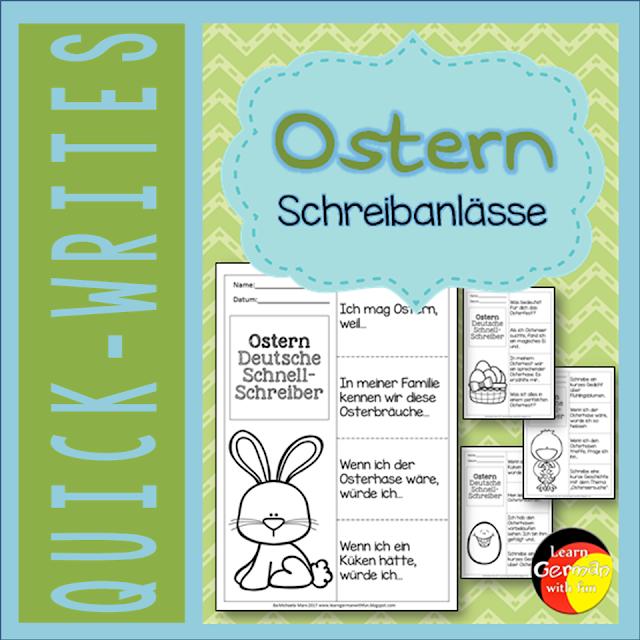 16 kleine Schreibanlässe für Ostern