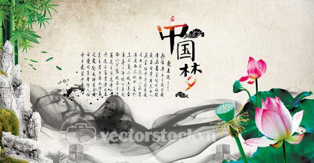Vector Hoa Sen free