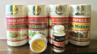 Obat kutil kelamin De Nature Herbal