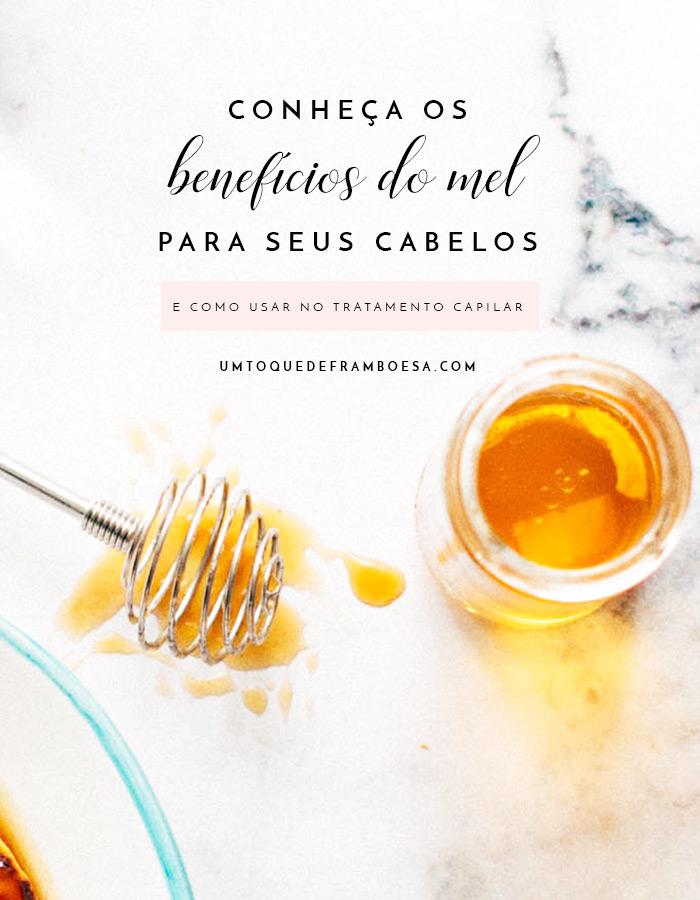 Conheça as propriedades do mel e os benefícios deste potente ingrediente natural para o tratamento do seu cabelo