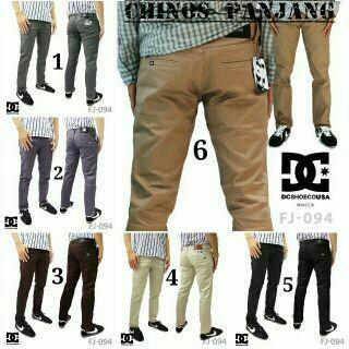 celana chino panjang pria Pilihan warna