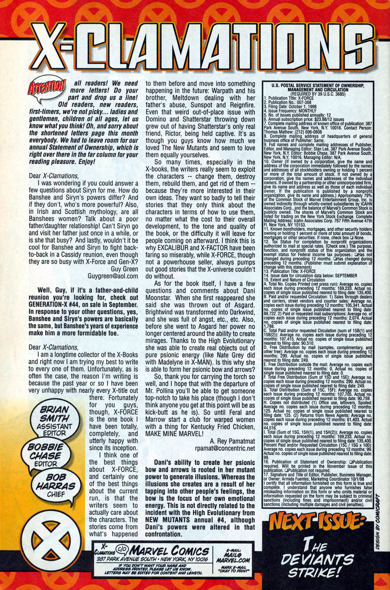 Read online X-Force (1991) comic -  Issue #83 - 41
