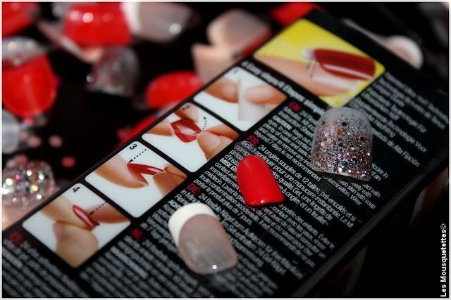 Manucure instantanée Impress - KISS chez Marionnaud - Blog beauté Les Mousquetettes©