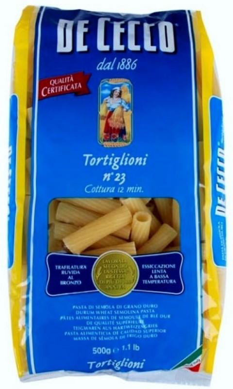 Tortiglioni De Cecco col sugo di salsiccia