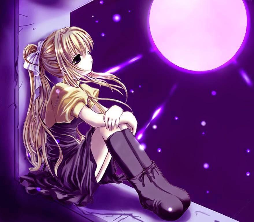 14 Hình Nền Anime Buồn Cô đơn