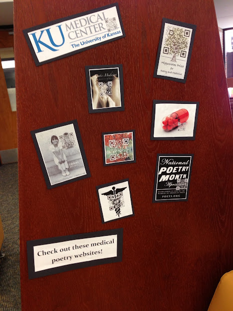 Archie . Dykes Library Human Medicine And Poetry Display