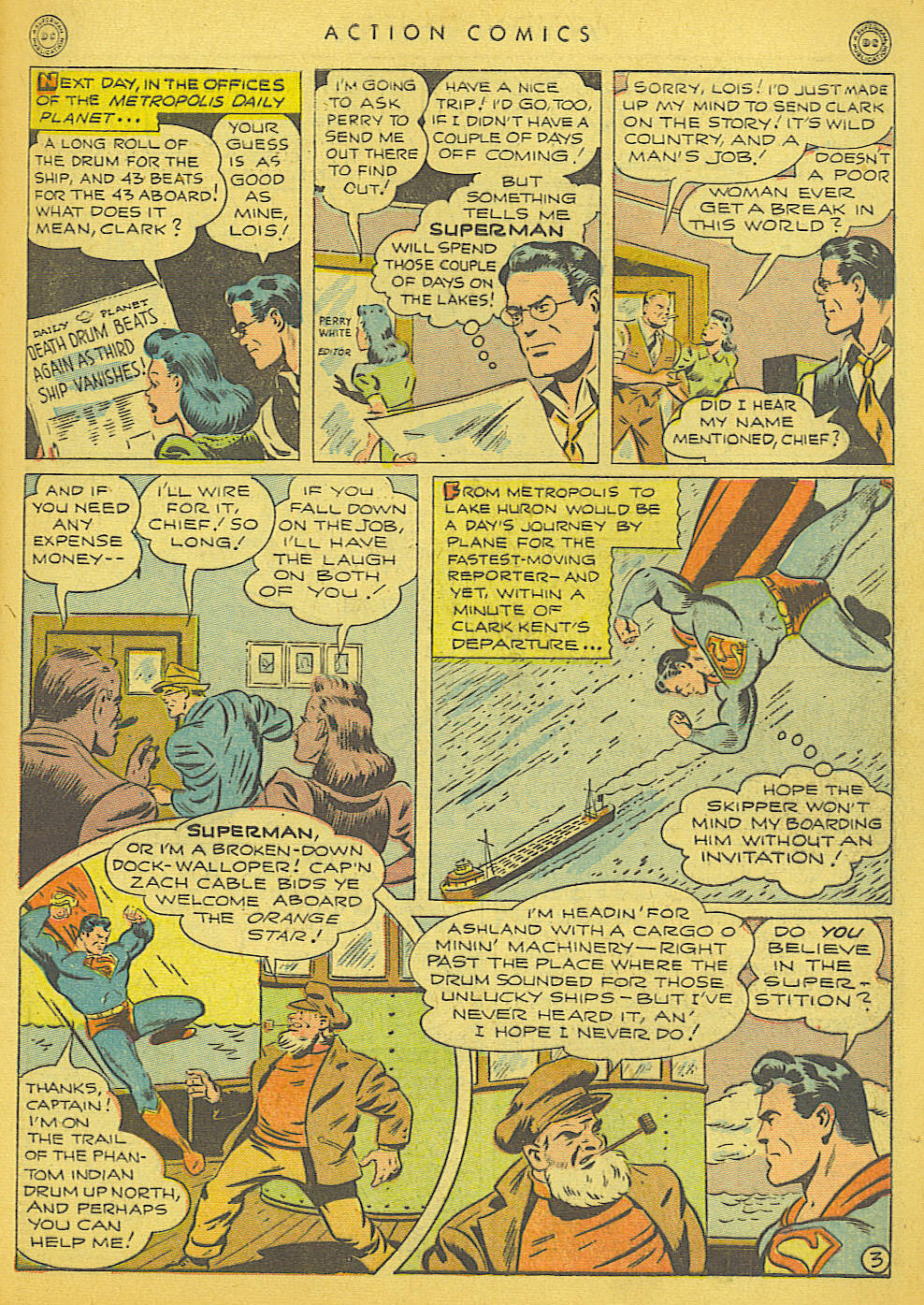 Read online Action Comics (1938) comic -  Issue #91 - 5