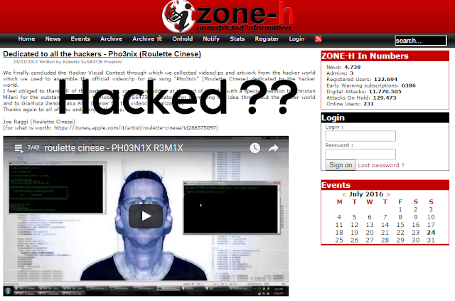Zone-h.org Got Hacked