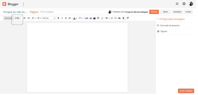 Criando um formulário de cantato para o blog.
