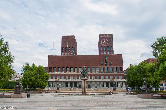 Ayuntamiento de Oslo. Noruega