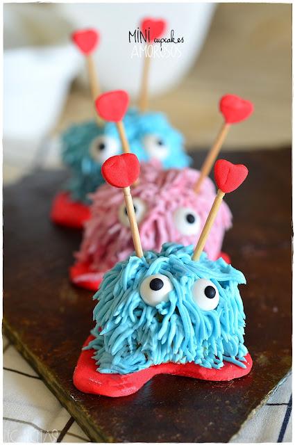 Mini cupcakes Amorosos