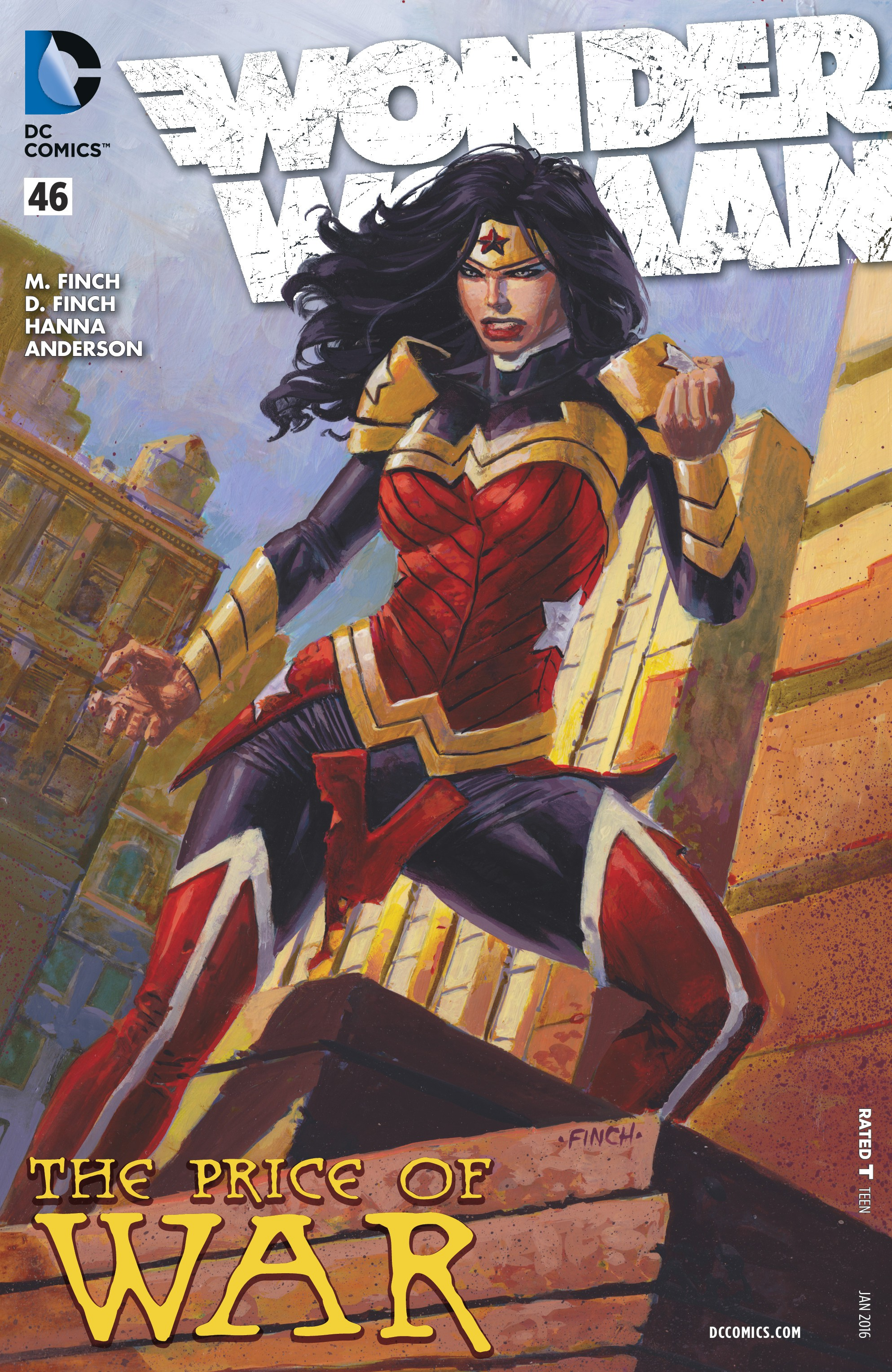 Read online Wonder Woman (2011) comic -  Issue #46 - 1