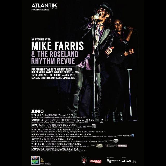 MIKE FARRIS - Gira España 2016