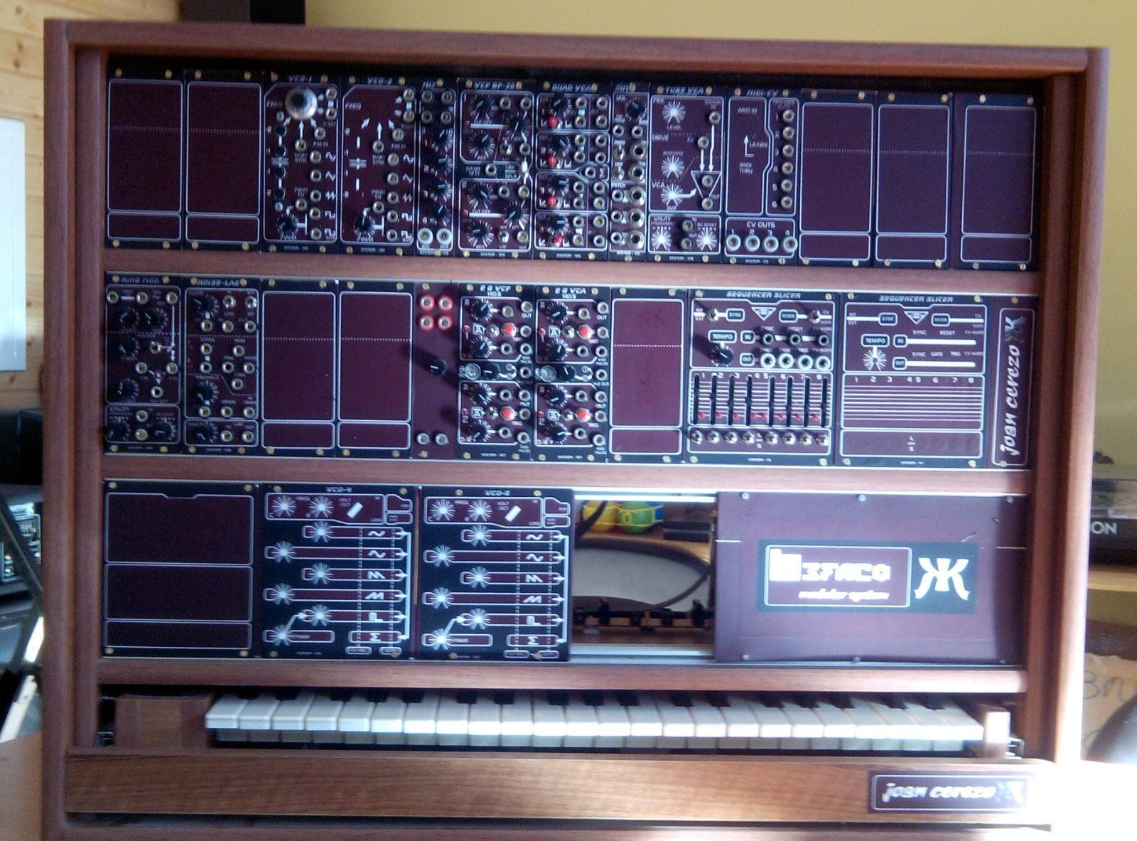 matrixsynth befaco modular synthesizer system for sale. Black Bedroom Furniture Sets. Home Design Ideas