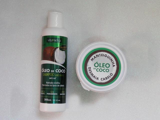 Resenha: Linha Óleo de Coco da Vita seiva