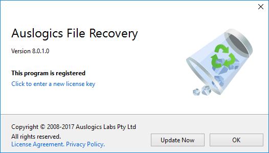 Auslogics File Recovery 8 Crack