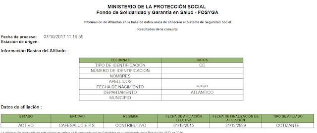 certificado de fosyga online