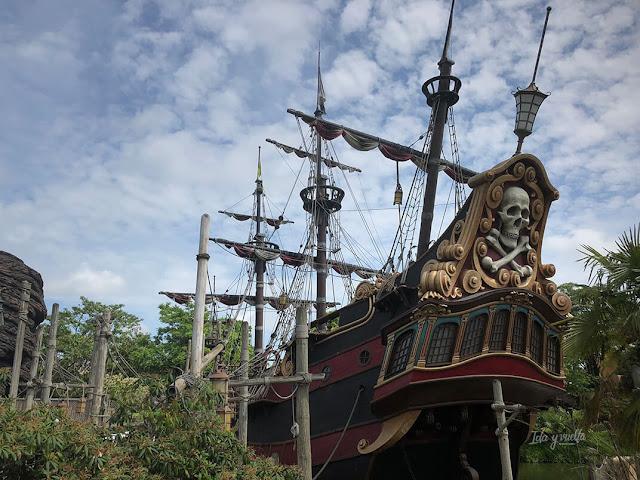 Barco pirata en Disney