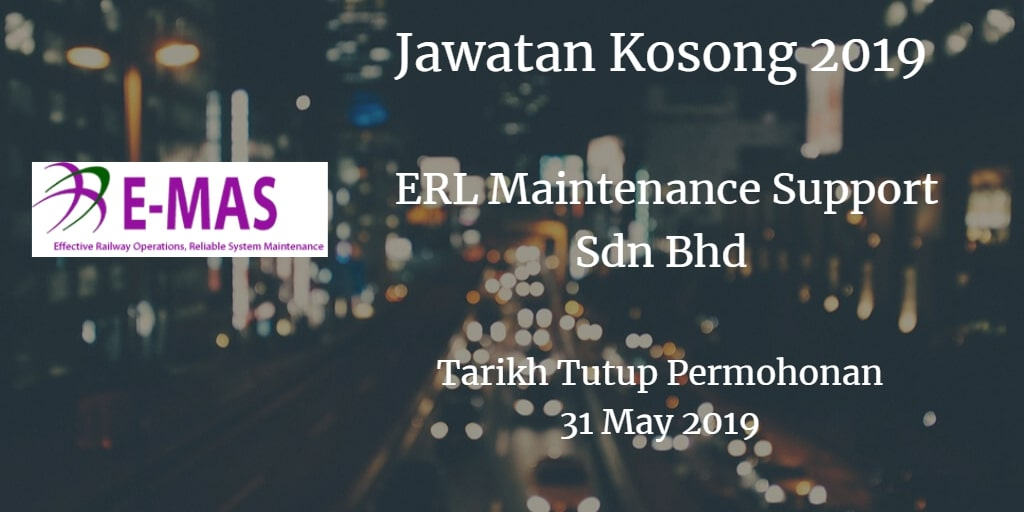 Jawatan Kosong E-MAS 31 May 2019