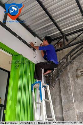 Pemasangan CCTV di Ruko