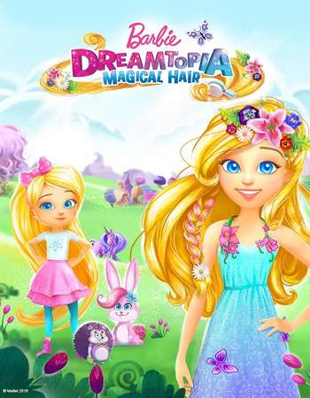 Poster Of Barbie Dreamtopia 2016 Hindi Dual Audio 250MB DVDRip 720p HEVC Free Download Watch Online downloadhub.in