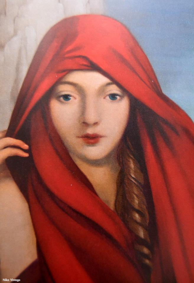 Carles Gomila, Red Witch, pintura, obra,