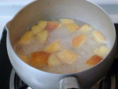 cara membuat apel rebus