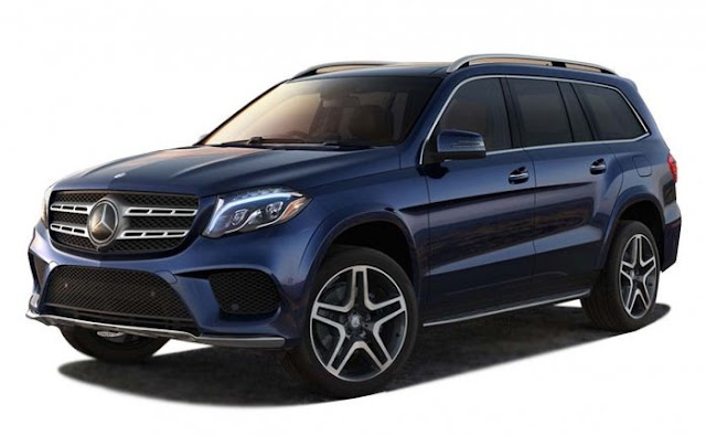 New 2018 Mercedes GLS Grand Edition blue color