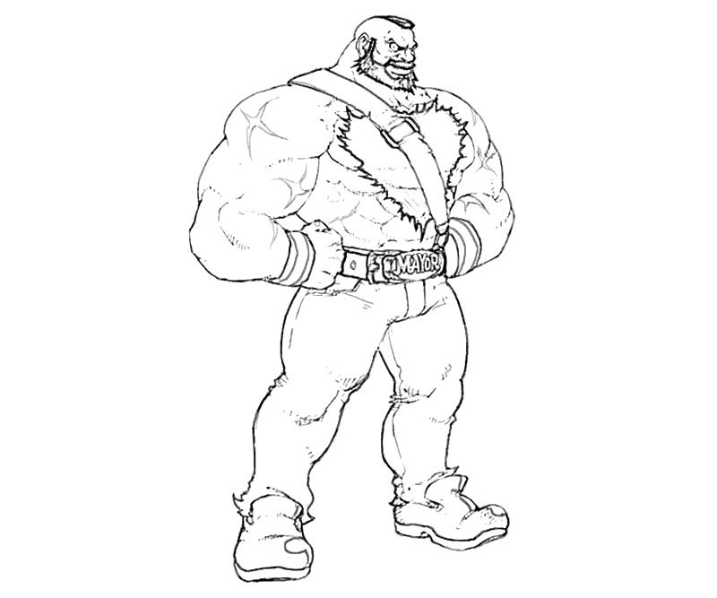 street fighter coloring pages - photo#30