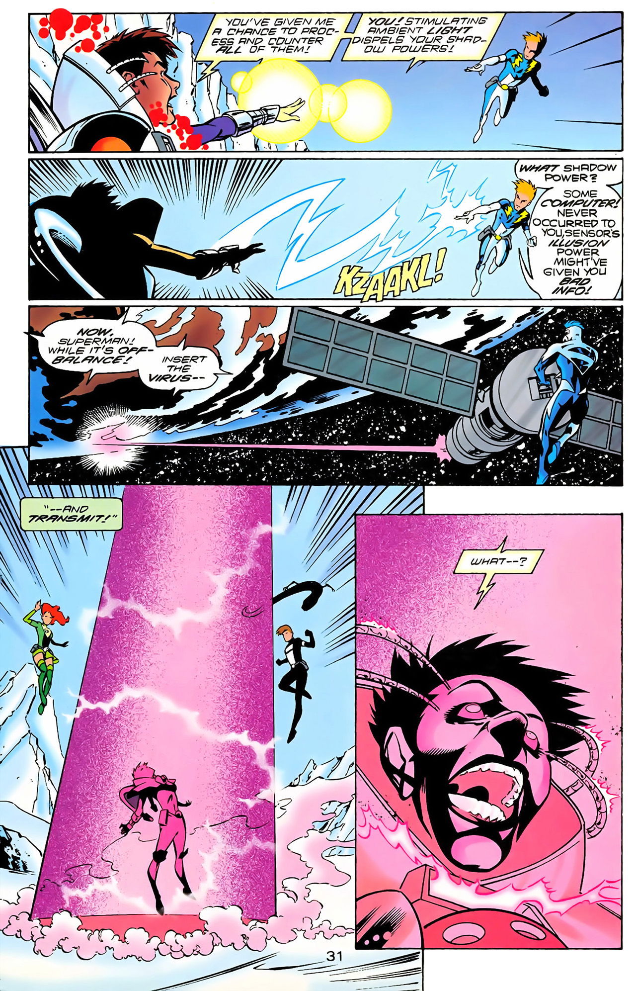 Legion of Super-Heroes (1989) 100 Page 29