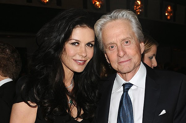 Michael Douglas and Catherine Zeta-Jones is back together
