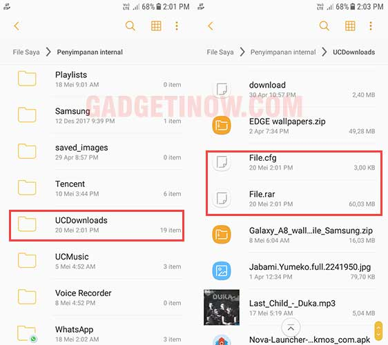 mengatasi download terhenti di uc browser
