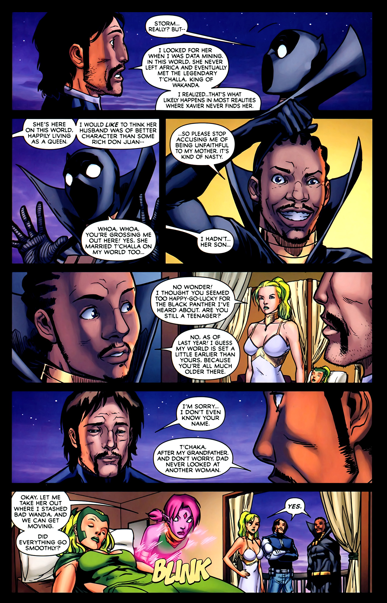 Read online Exiles (2009) comic -  Issue #2 - 16