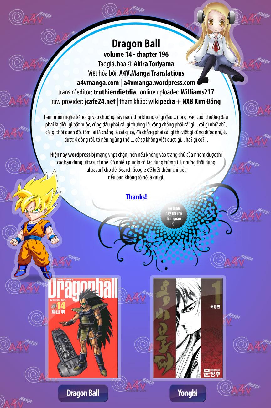 Dragon Ball chap 196 trang 1