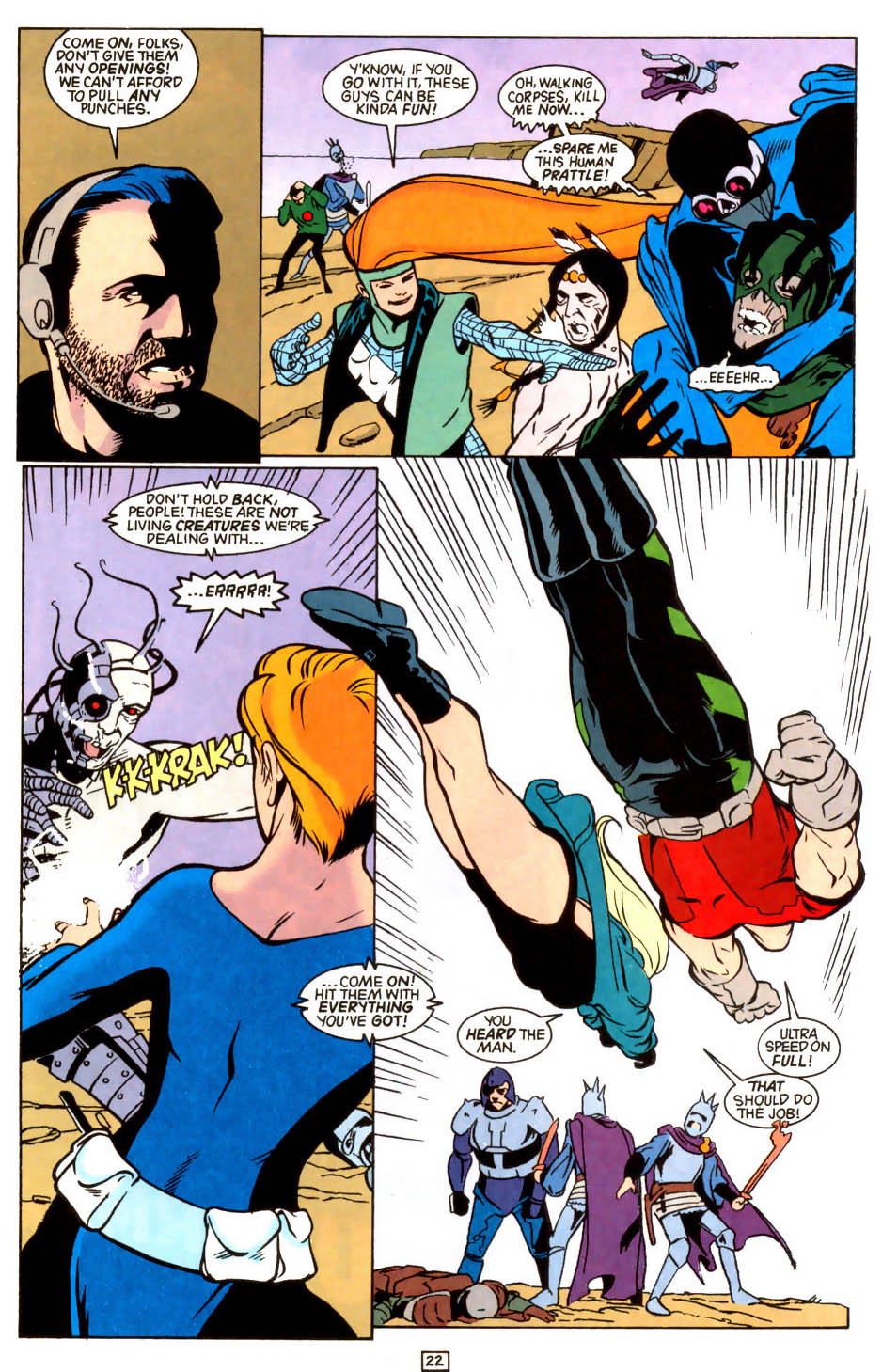 Legion of Super-Heroes (1989) 45 Page 21