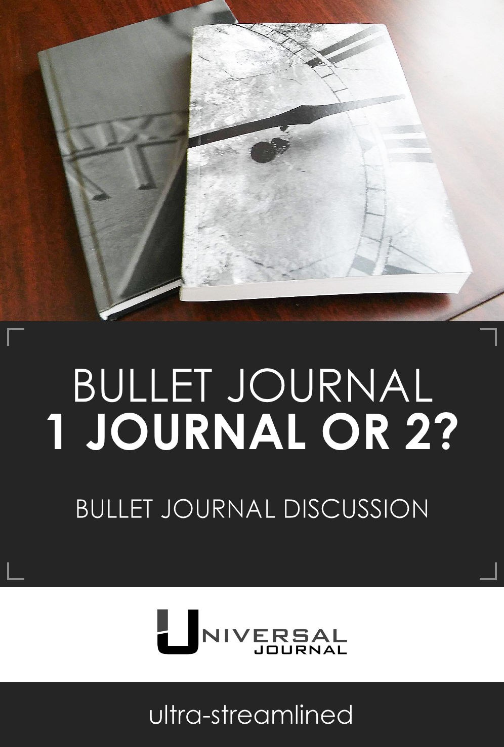 bullet journal discussion one notebook or two