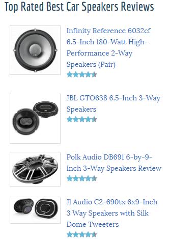 speaker mobil yang bagus