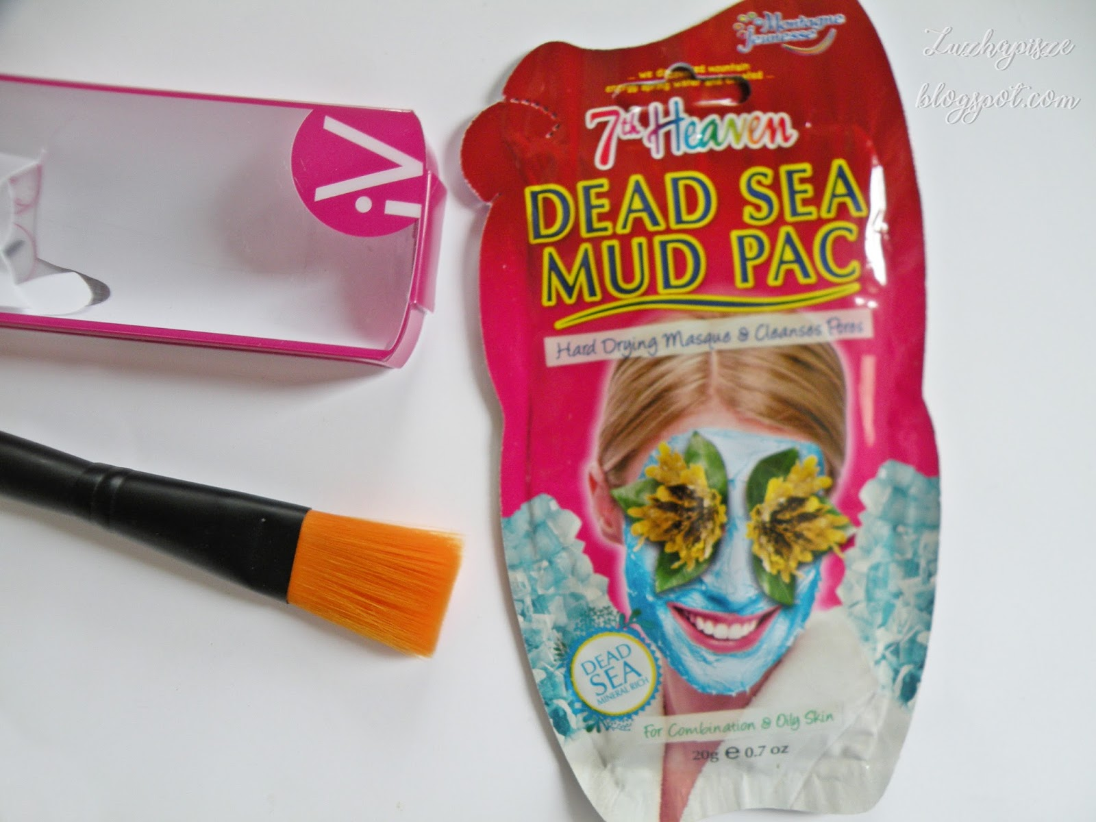 Dead Sea Mud Pac 7th Heaven