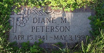 Diane Thielen Peterson Pet Valhalla Cemetery Franksville Wisconsin