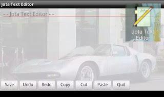 Aplikasi Jota Text Editor
