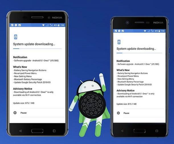 Android Oreo Nokia Updates