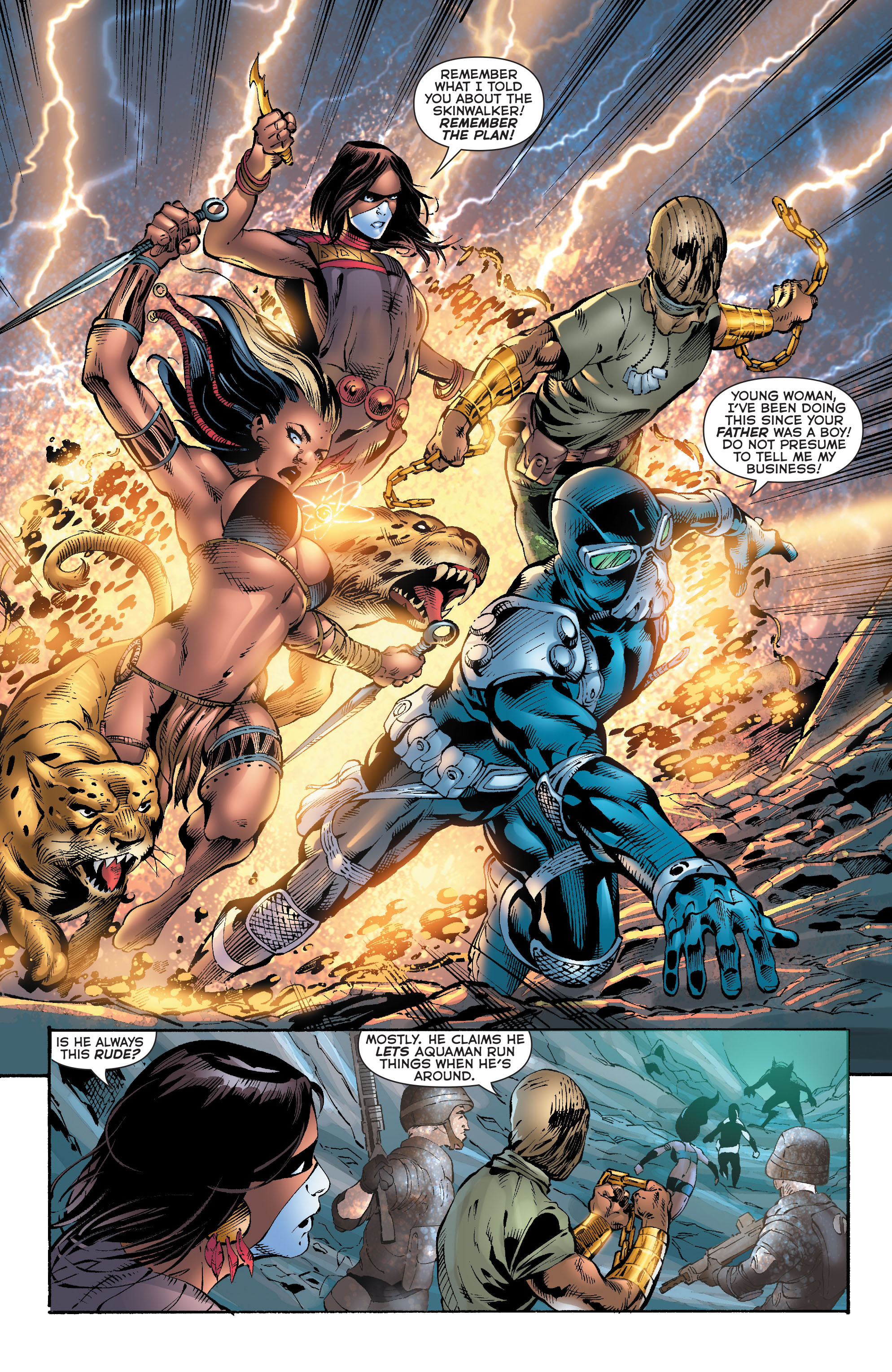 Read online Aquaman (2011) comic -  Issue #20 - 16