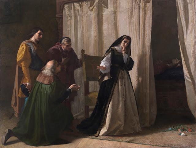 Demencia de Doña Juana de Castilla, 1866