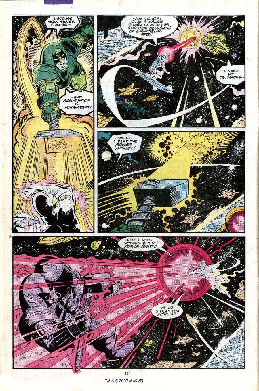 Read online Silver Surfer (1987) comic -  Issue #25 - 30