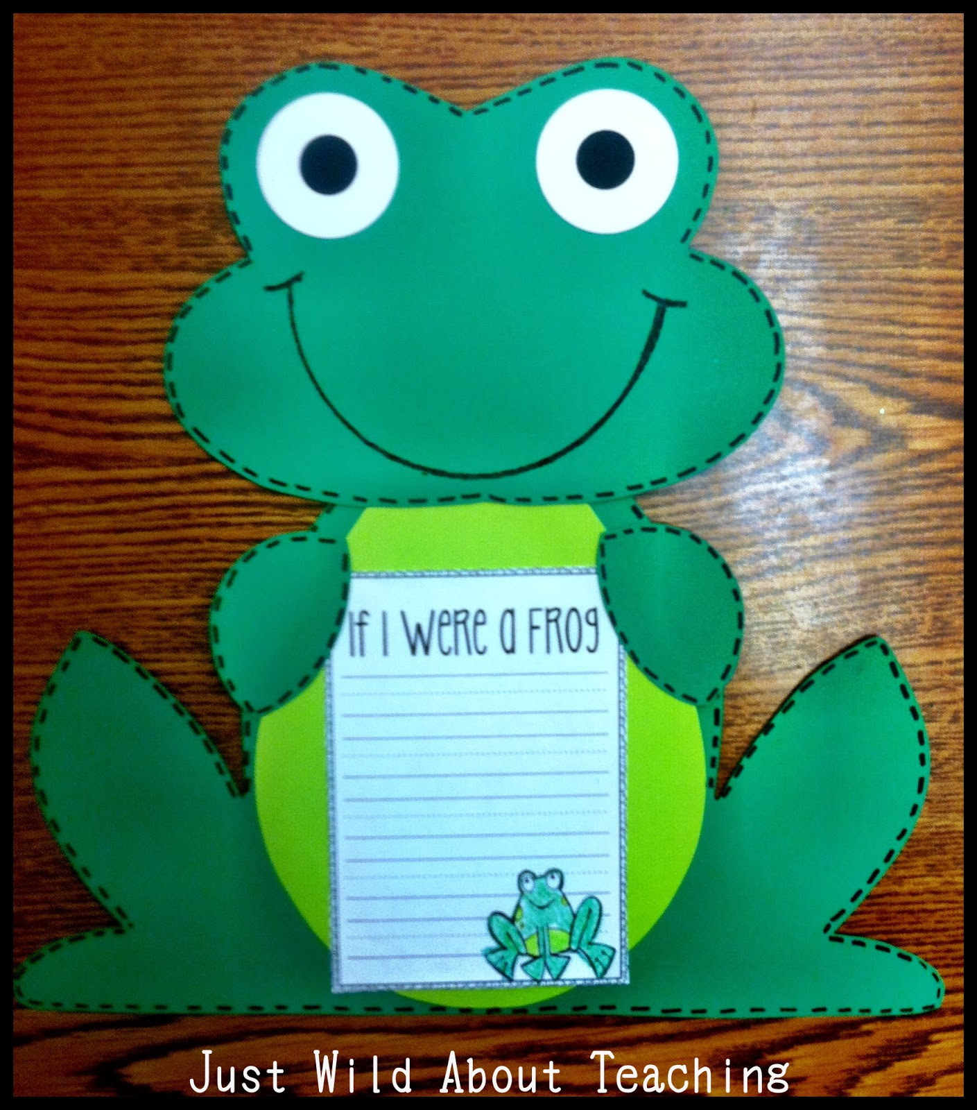 Just Wild About Teaching Froggy Fun Mini Unit