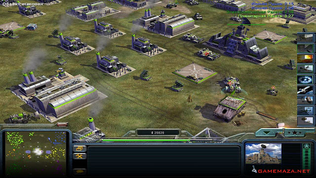 Command & Conquer Generals Zero Hour Gameplay Screenshot 3