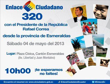 cadena sabatina Rafael Correa