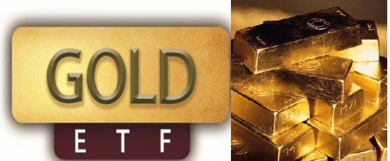What is the diff between gold investment and gold ETF
