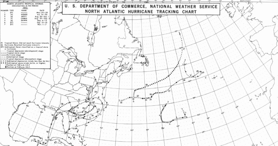 Early Warning: Nearest Precedent for Hurricane Sandy